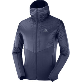 Salomon Outline Warm Jacket Herre Night Sky